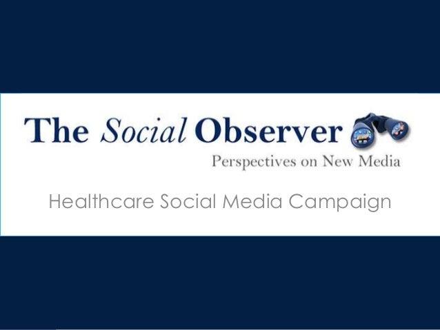 Healthcare Social Media Campaign