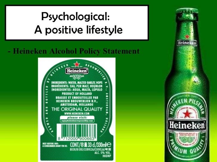 Heineken Alcohol Policy 48