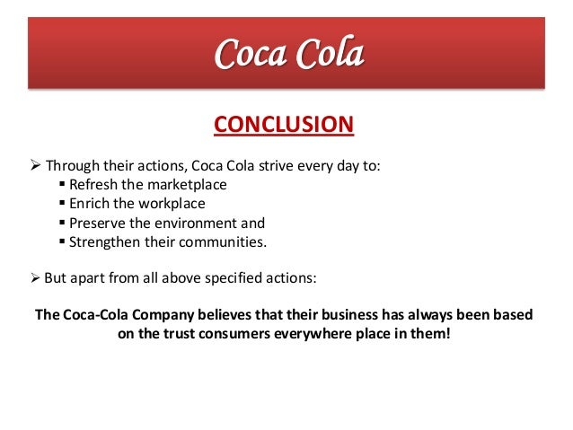 coca colas history and marketing techniques Case study: coca cola integrated marketing one hundred twenty nine year history have often had a for coca cola is aimed at two strategies.