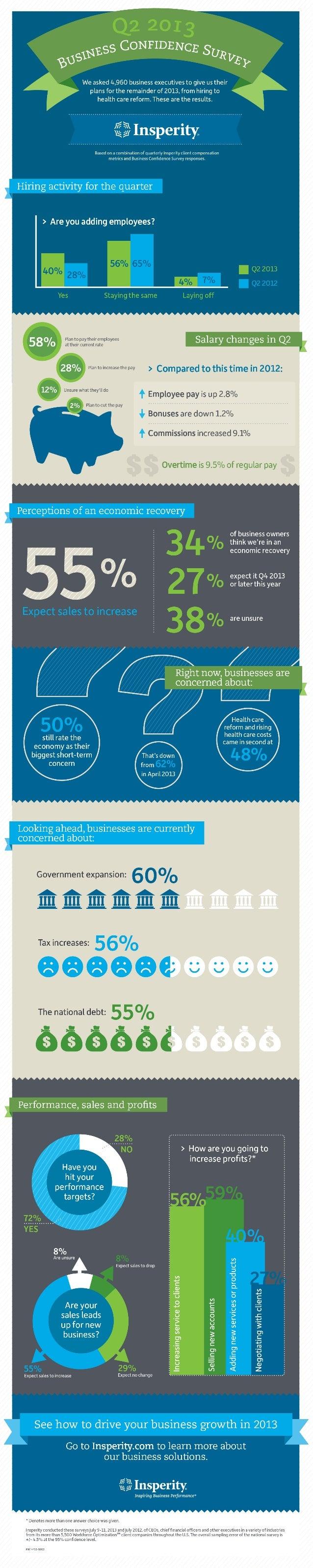 Insperity Business Confidence Survey: Q2 2013 [Infographic]