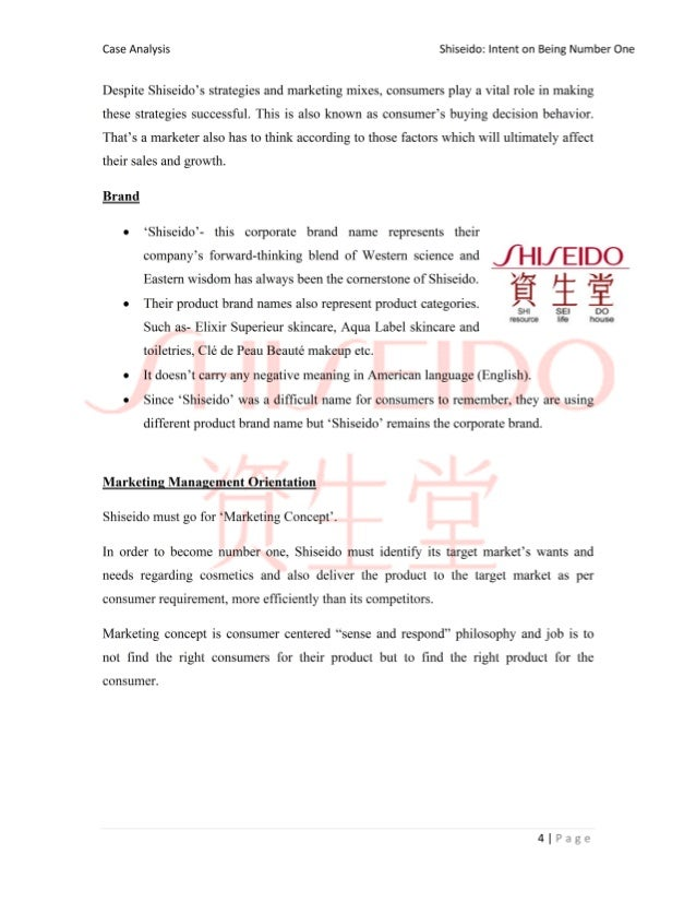 shiseido case analysis Business analysis - shiseido business analysis my account shiseido business analysis essay shiseido business analysis essay  through the case study, it is seen.