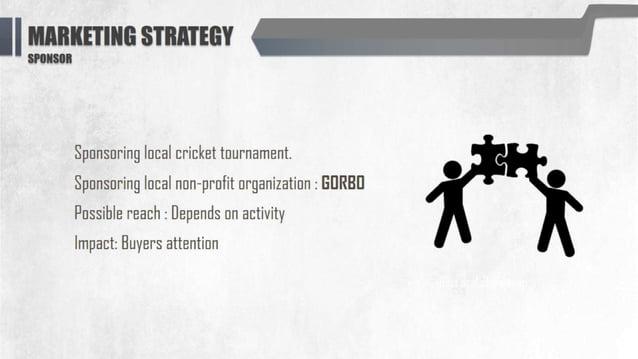 II mum smmv -21-  Sponsoring local cricket tournament.   Sponsoring local non-profit organization :  EDRBIJ Possible reach...