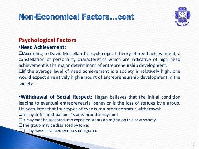 factors affecting economic development pdf