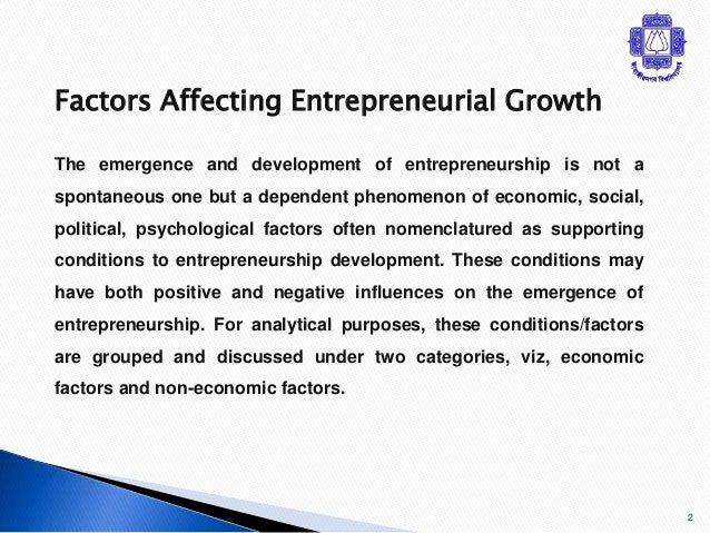 factors affecting social entrepreneurship Analyzing the success of social enterprises - critical success factors despite growing interest in social entrepreneurship and success factors of social.