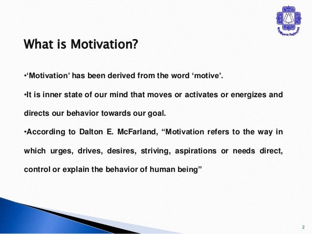 entrepreneurial motivation Motivation comes in countless different forms, and in the entrepreneurial world, staying motivated is required to succeed.