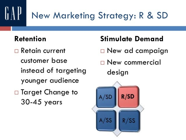 gap marketing strategy The brand gap: how to bridge the distance between business strategy and design see and discover other items: computer graphics, web design, brand management, brand marketing, business strategy, small business marketing back to top get to know us careers.