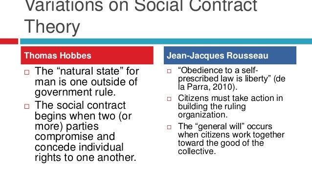 the theories of human nature proposed by thomas hobbes john locke and jean jacques rousseau Political order that thomas hobbes termed the state of nature john locke (1689), jean-jacques rousseau of social contract theory in hobbes, locke.