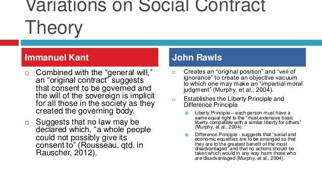 major differences of the social contract theories John locke is an illustration of how social contract theory president obama's conception of the social compact how different this is from.