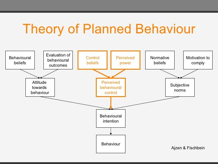 a description of the theory of planned behaviors The theory of planned behavior (tpb) of icek ajzen (1988, 1991) helps to  understand how we can change the behavior of people the tpb is a theory  which.
