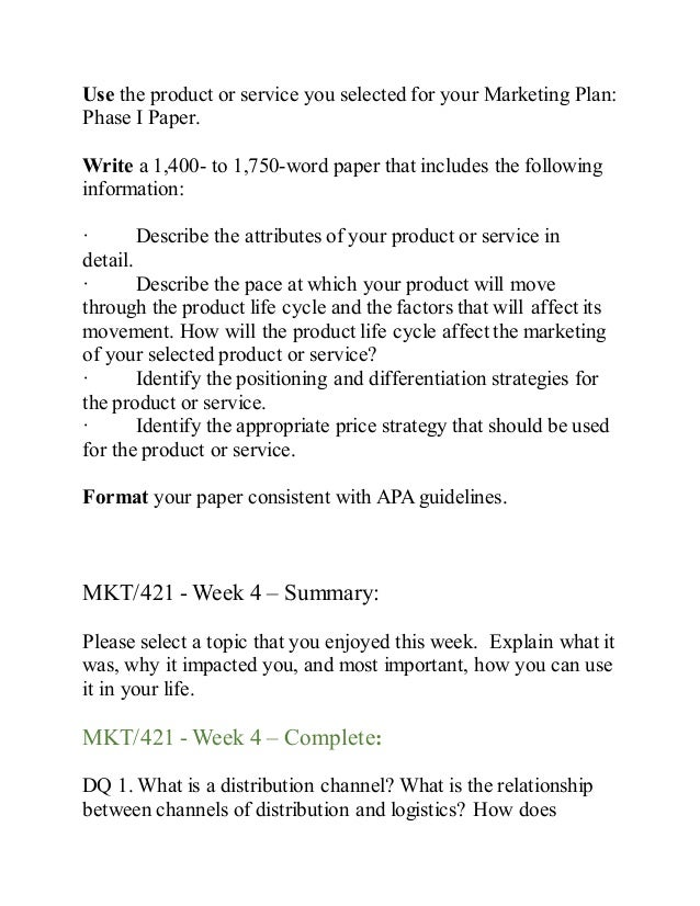 describe the attributes of your product or service in detail mkt 421 Mkt 421 week 3 team strategy and positioning analysis part 1 (2 papers) • describe, in detail, the product or service identify the important attributes for your chosen product and select two key variables for.