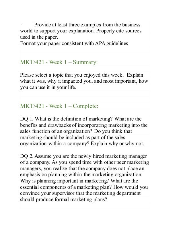 mkt 421 week 2 personal branding paper Write a 750 word paper that does the following: summarizes your background and what makes you unique in a 1-paragraph elevator pitch identifies 3 to 4 companies you want to work for, and an explanation as to why identifies the best methods for contacting those companies and engaging those who.