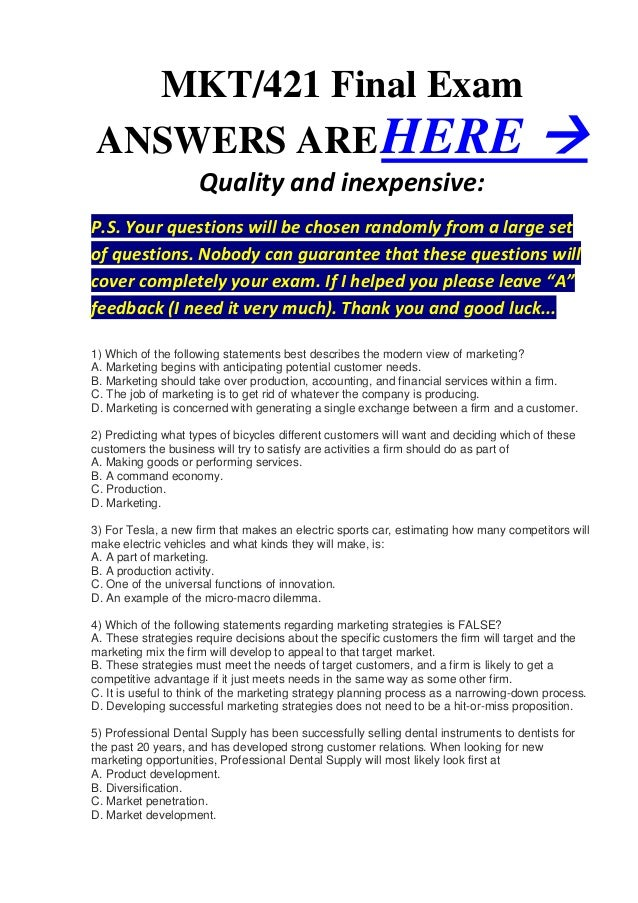 mgt 230 final exam answers Purchase entire course solutions and final exam answers.