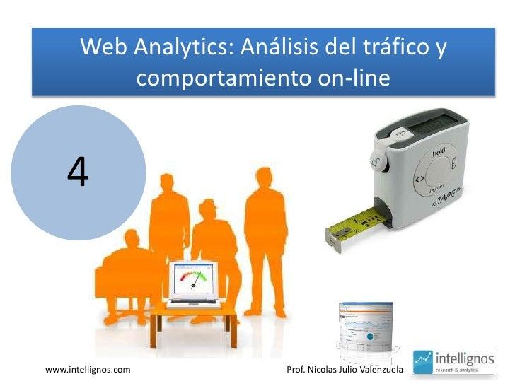 Web Analytics: Análisis del tráfico y comportamiento on-line<br />