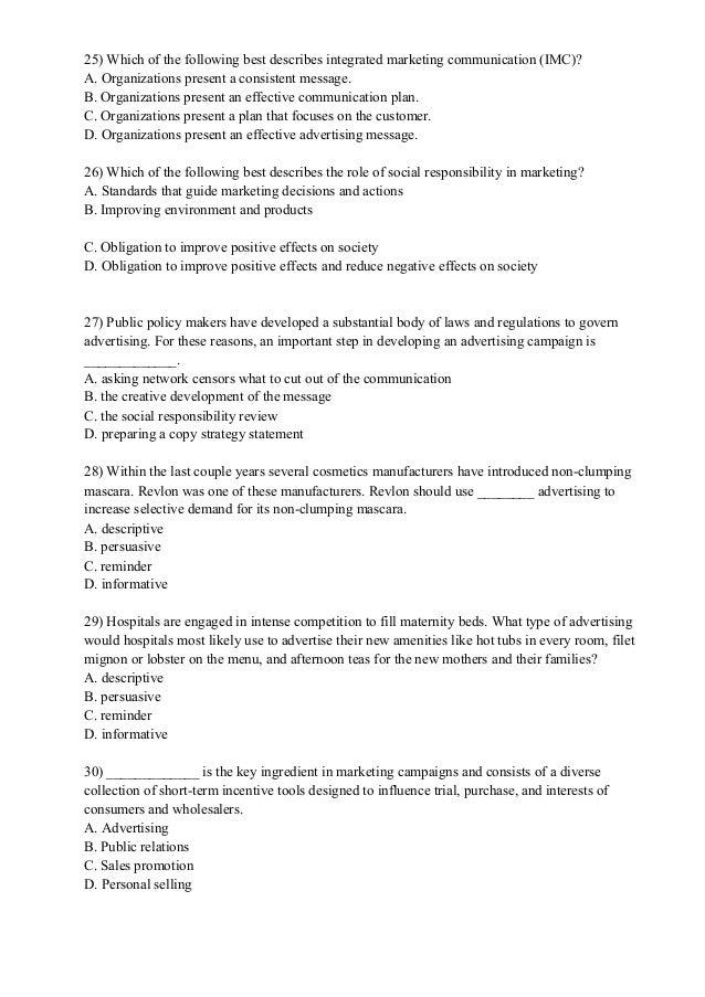 Global Marketing Final Exam
