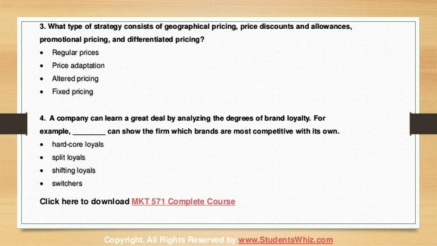 mkt 571 marketing complete course Assignmentehelpcom provide mkt 571 final exam latest uop complete course tutorials and entire course question with answers complete marketing benefit.