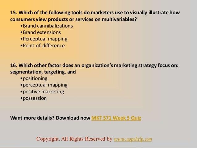MKT571 Week-2 Understanding Target Markets