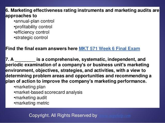 Mkt 571 week 6