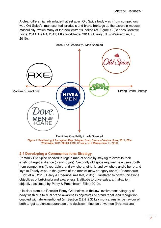 Strategic Planning Process : OId Spice