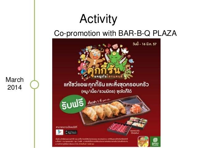 Activity  April  2014  Start promote in BTS
