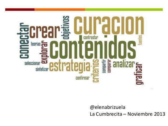 @elenabrizuela La Cumbrecita – Noviembre 2013