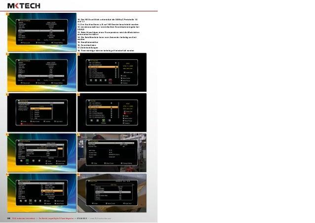 16 17 18 6 11 12 15 10 13 14 58 TELE-audiovision International — The World's Largest Digital TV Trade Magazine — 07-08/201...