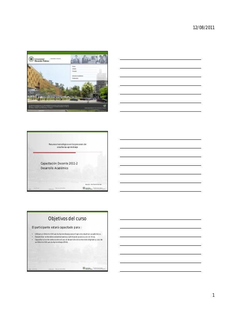 12/08/2011                      Recursos tecnológicos en los procesos de                              enseñanza-aprendizaj...