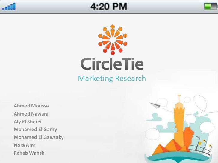 Marketing Research<br />Ahmed Moussa<br />Ahmed Nawara<br />Aly El Sherei<br />Mohamed El Garhy<br />Mohamed El Gawsaky<br...