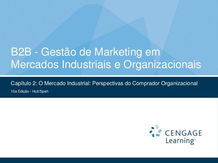 B2B - Gestão de Marketing emMercados Industriais e OrganizacionaisCapítulo 2: O Mercado Industrial: Perspectivas do Compra...
