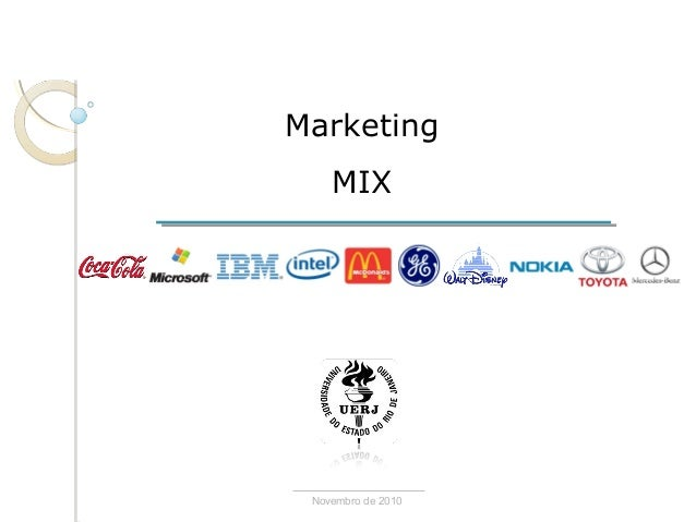 Marketing MIX Novembro de 2010