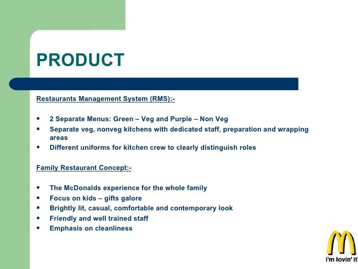 PRODUCT <ul><li>Restaurants Management System (RMS):- </li></ul><ul><li>2 Separate Menus: Green – Veg and Purple – Non Veg...