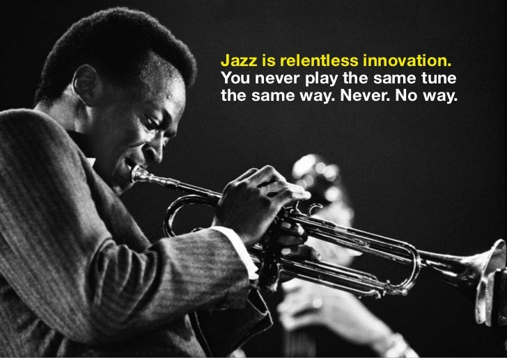 Mktng like jazz Slide 3