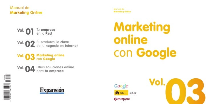 Manual de                              Manual de Marketing Online                       Marketing Online        Vol.      ...