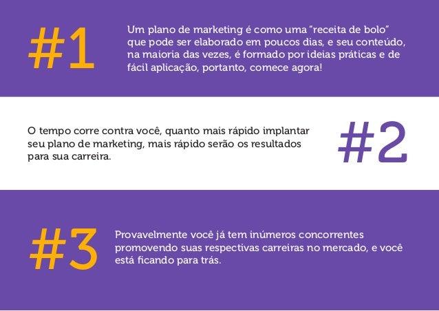 """Um plano de marketing é como uma """"receita de bolo"""" que pode ser elaborado em poucos dias, e seu conteúdo, na maioria das v..."""