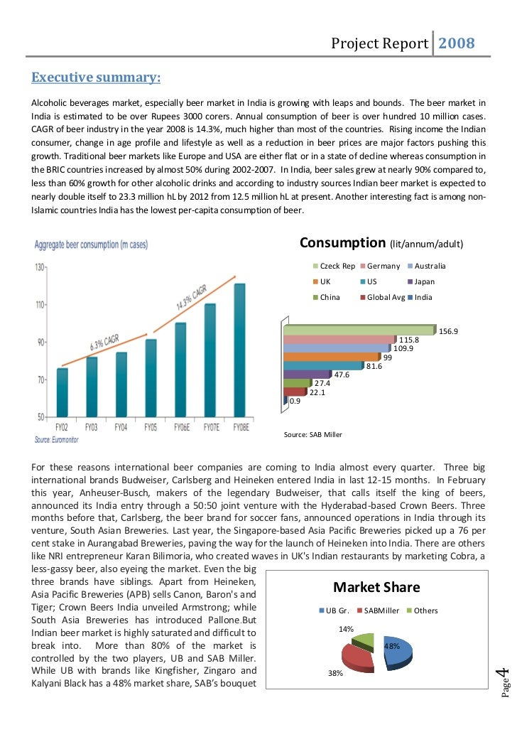 Indian Beer Market Outlook to 2015 - Strong Lager Beer Driving the Demand
