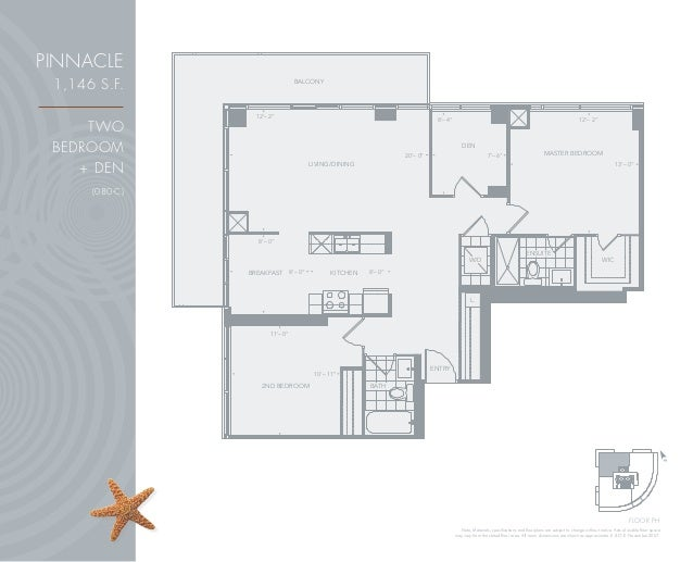 Beyond the sea star tower condominiums 2230 lake shore for 15 bruyeres mews floor plans