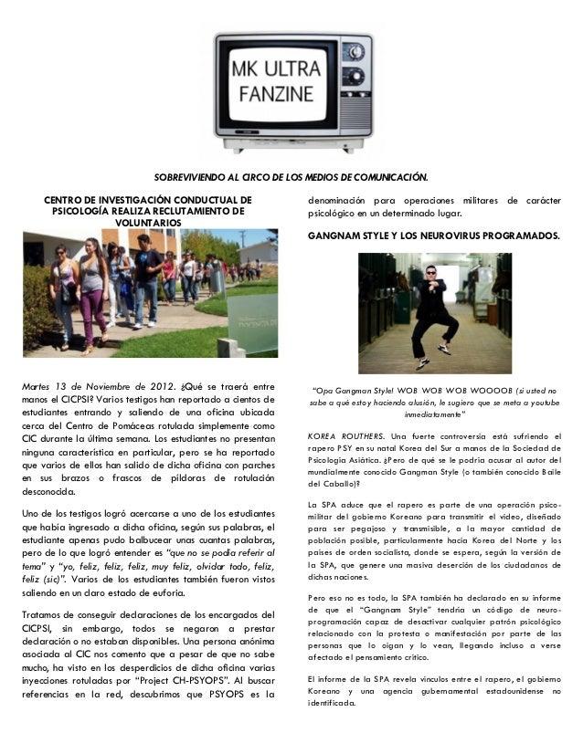 SOBREVIVIENDO AL CIRCO DE LOS MEDIOS DE COMUNICACIÓN.     CENTRO DE INVESTIGACIÓN CONDUCTUAL DE                          d...
