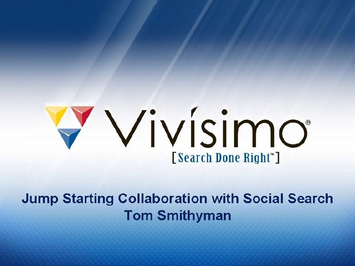 Jump Starting Collaboration with Social Search