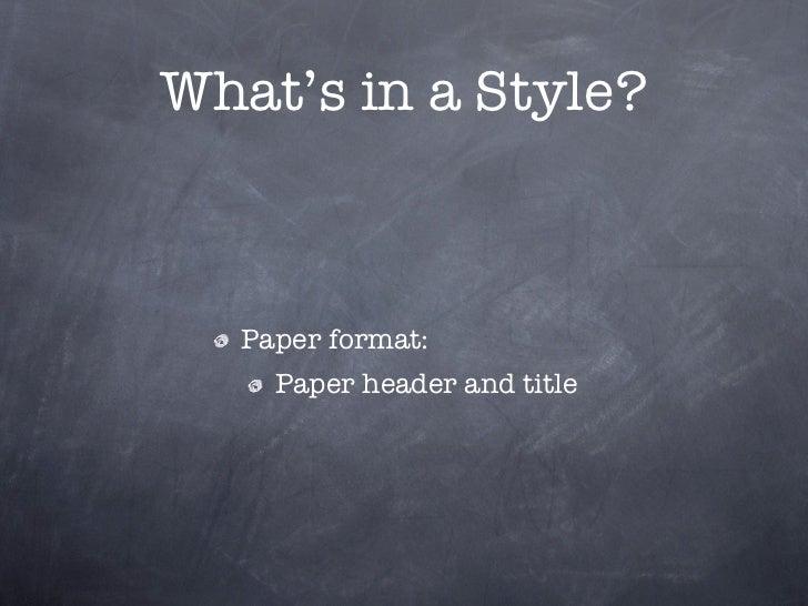 mla format paper header