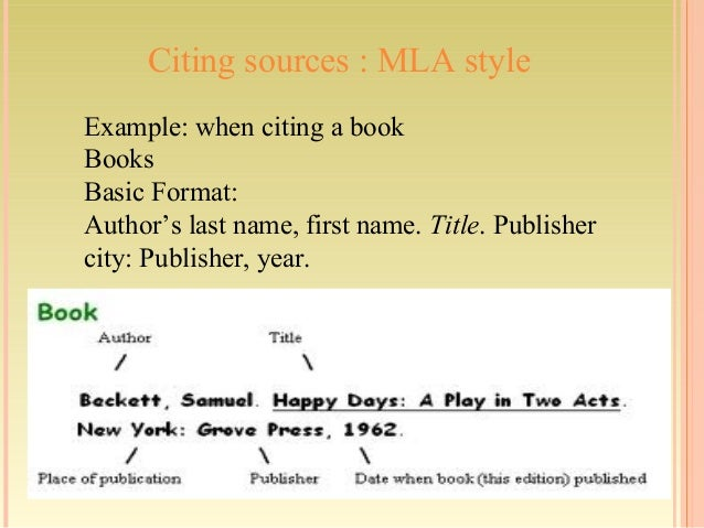 how to cite plays in mla
