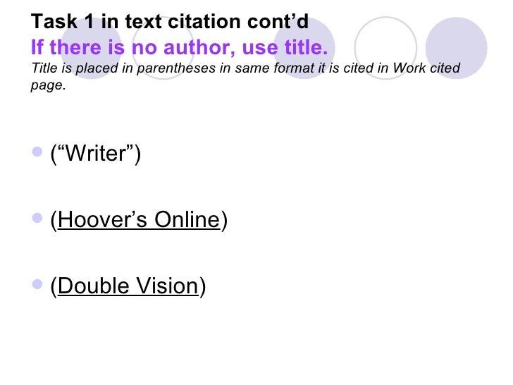 mla book citation format
