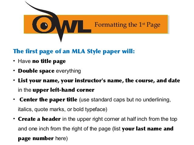 Mla formatting and citation guide 9 ccuart Image collections