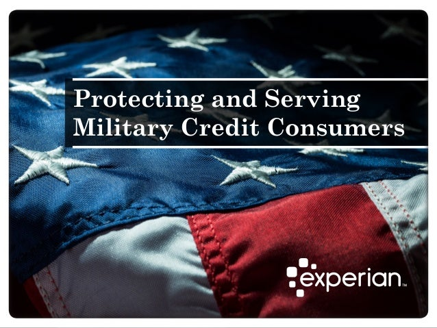 Protecting and Serving Military Credit Consumers