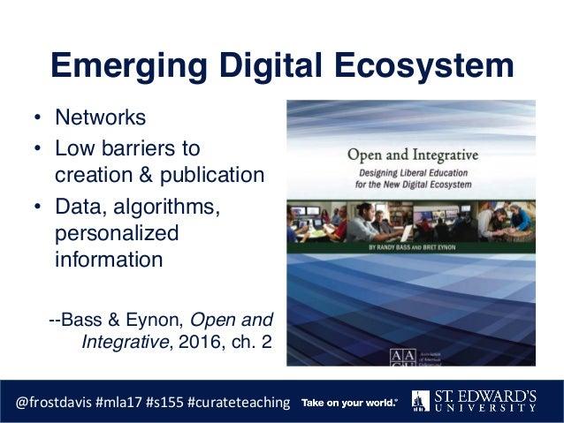 Curating Digital Pedagogy Slide 3