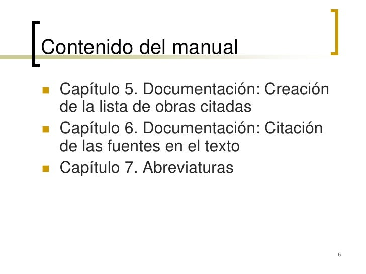 mla manual