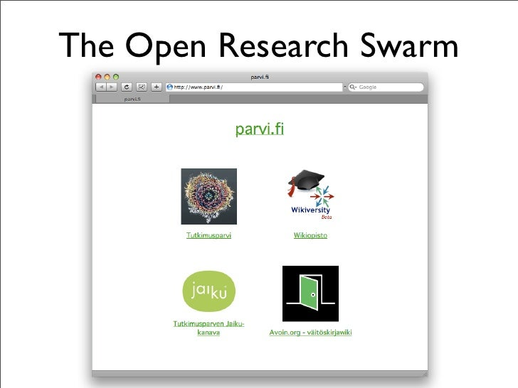 The Open Research Swarm