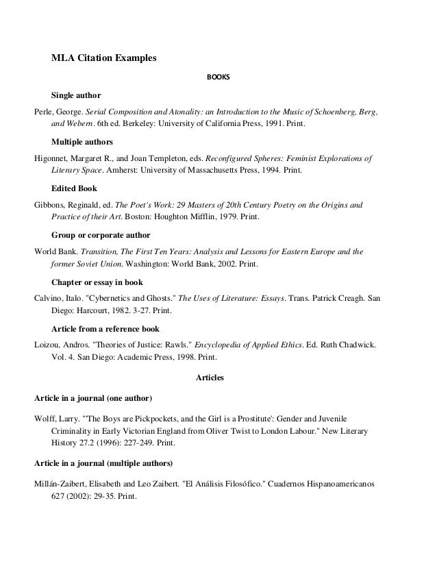 annotated bibliography example mhra