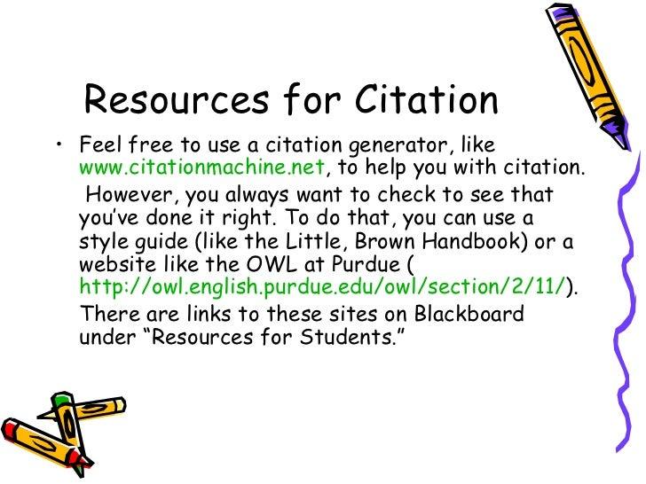 purdue mla citation generator
