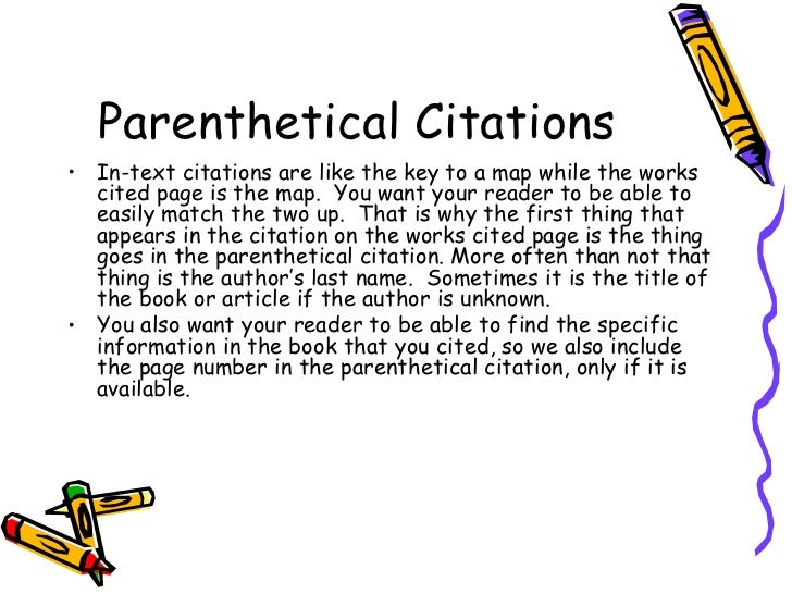 parenthetical essay Y/n: it is more effective to refute a specific idea within the essay than the conclusion of the essay clearly cited, using the mla parenthetical form of citations references and quotations in your post, must be.