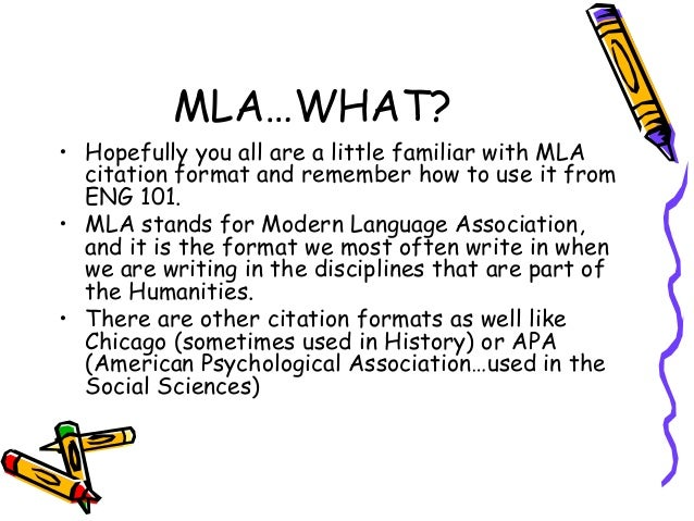 what is an mla citation