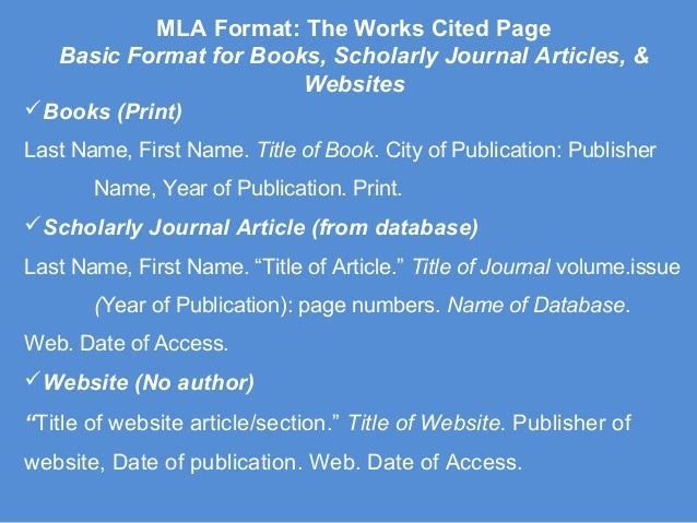 mla format for book Searching for a free mla book citation generator search no further visit our website and find out how we can solve all your problems with citing.